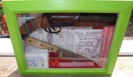 MAKE | How-To: Zombie Apocalypse Survival Kit Shadowbox | Zombie Mania | Scoop.it