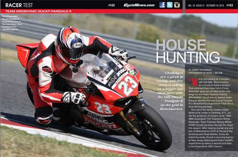 Cycle News - Cycle News 2016 Issue 41 October 18 | Ductalk Ducati News | Scoop.it