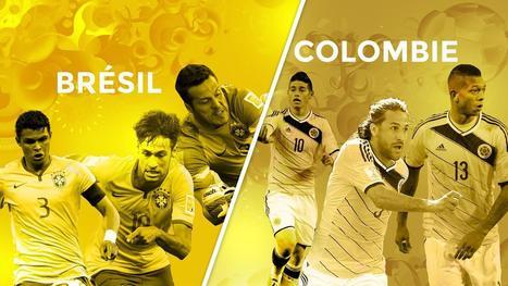 Avant match 1/4 de finale : Brésil - Colombie - Coupe du monde - Brésil 2014 | Coupe du monde - Brésil 2014 | Scoop.it