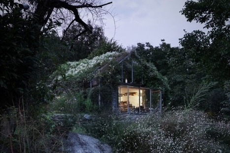 House Designed To Be Consumed By Climbing Vegetation [Pics] - PSFK | Architecture | Scoop.it
