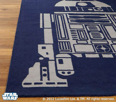 R2-D2 Area Rug: You're Standing on the Droid You're Looking for | All Geeks | Scoop.it
