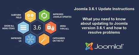 Special Steps To Update To Joomla 3.6.1 | Joomla | Scoop.it