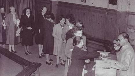 29 avril 1945, les Françaises votent pour la première fois - France Info | FLE, TICE & éducation aux médias | Scoop.it