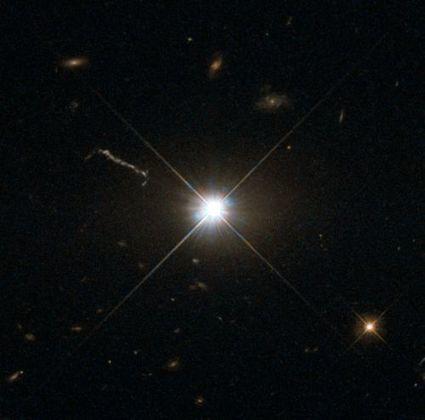 50 ans d'énigme des quasars : un portrait de 3C 273 par Hubble | moroplogo | Scoop.it