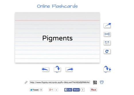 Sharing Technology: Flippity - Make your own set of attractive flashcards! | Sharing Technology for Teachers | Scoop.it