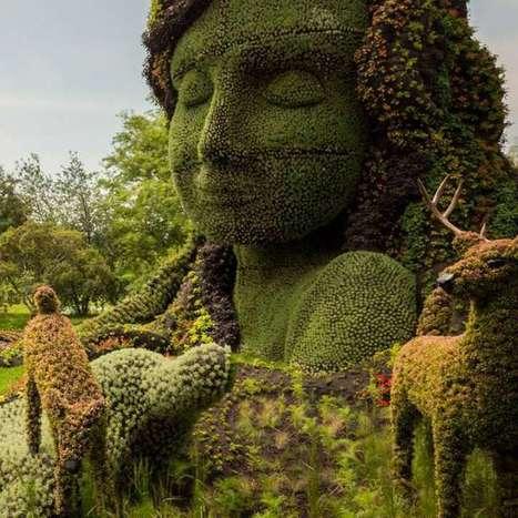 Sculptures végétales … mosaiculture vous connaissez ? | 366jourspour | Blogueur-débutant ... une veille pour progresser | Scoop.it