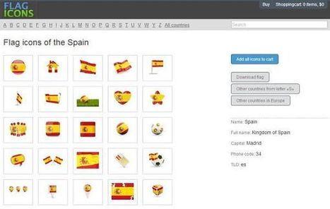 Flag Icons, iconos de bandera de todos los países del mundo   Las TIC y la Educación   Scoop.it