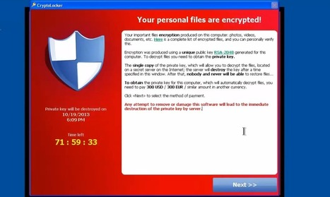 How To Fight CryptoLocker And Evade Its Ransomware Demands | Websites I Found So You Don't Need To | Scoop.it