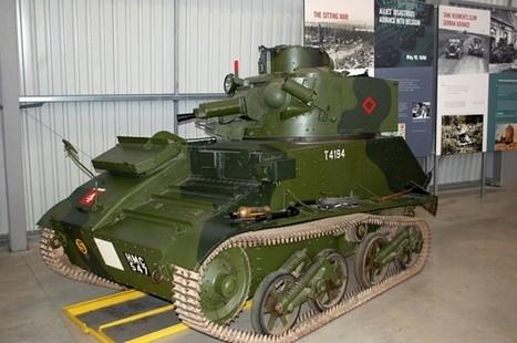 Vickers Mk VIb – Walk Around | History Around the Net | Scoop.it