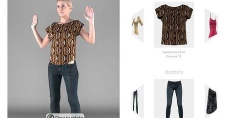 eBay s'offre PhiSiX, une cabine d'essayage virtuelle | Libertés Numériques | Scoop.it