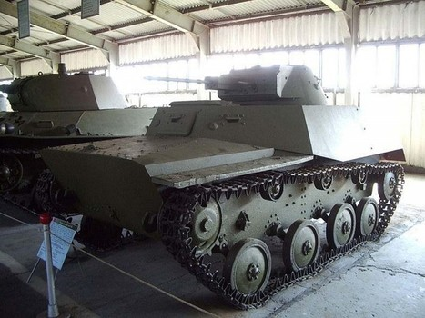 T-40S tank – WalkAround   History Around the Net   Scoop.it
