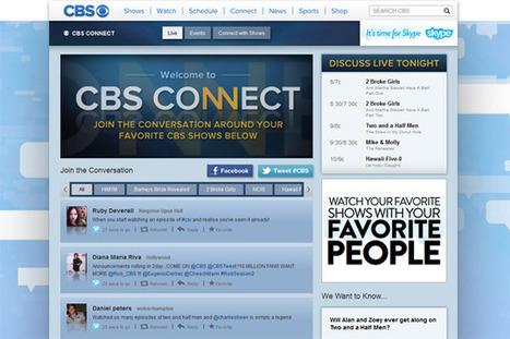 Exclusive: CBS.com launches social TV platform 'CBS Connect' | La TV connectée et le commerce by JodeeTV | Scoop.it