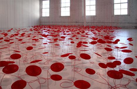 "Beili Liu: ""the Red Thread"" | Art Installations, Sculpture, Contemporary Art | Scoop.it"