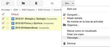 Google Docs en un centro educativo extremeño: fusión de documentos | google + y google apps | Scoop.it