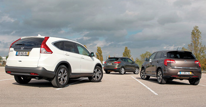 «SUV's macios»: Citroën C4 Aircross | Honda CR-V | Hyundai ix35 | Motores | Scoop.it