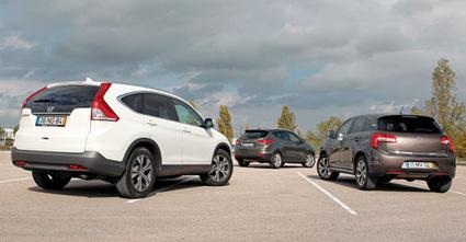 «SUV's macios»: Citroën C4 Aircross   Honda CR-V   Hyundai ix35   Motores   Scoop.it