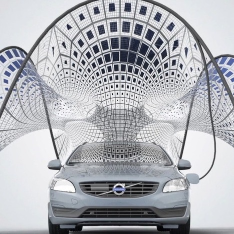 "Volvo's Electric Car Charger Design Is Stunning and Portable | L'impresa ""mobile"" 