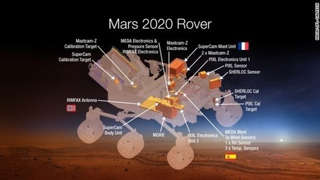 NASA's next Mars rover will make oxygen, to sustain life | Amazing Science | Scoop.it