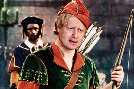 Boris Johnson proposes flat tax scheme that would hammer the poor but could save him £100,000 | welfare cuts | Scoop.it