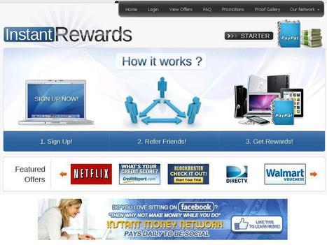 Get Daily Ca$h Rewards for Referring Product Offers | Use Social Media to get Paid Daily! | DIGITAL MEDIA | Scoop.it