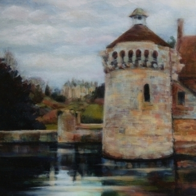 Artwork: Ashburnham Tower - Scotney Castle, Kent - Open House Art | Art - Crafts - Design | Scoop.it