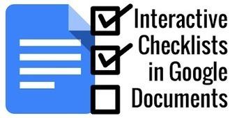 Control Alt Achieve: Interactive Checklists in Google Docs | Documentos de Google | Scoop.it