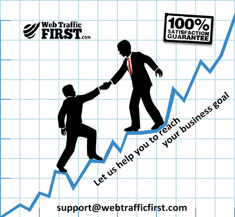 What you need to reach your business goal | Web Traffic First | Scoop.it