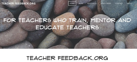 Teacher Feedback for Teacher Trainers | Educación flexible y abierta | Scoop.it