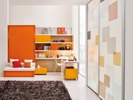 Transformable Space Saving Kids Rooms - Home Designing | Interior design | Scoop.it