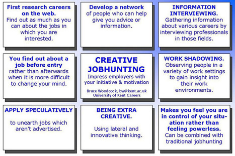 Creative Jobhunting or How to get the Hard-to-get jobs.   Find my dream job   Scoop.it