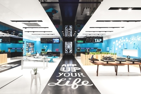 Visually stunning store concept in Shenzhen, China - Adelto | Design Ideas | Scoop.it