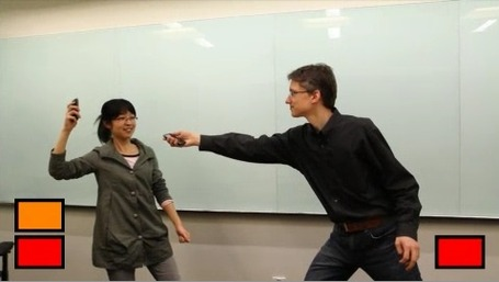 En Garde! Microsoft Creates Smartphone Tech for Virtual Sword Fighting | Cyborg Lives | Scoop.it