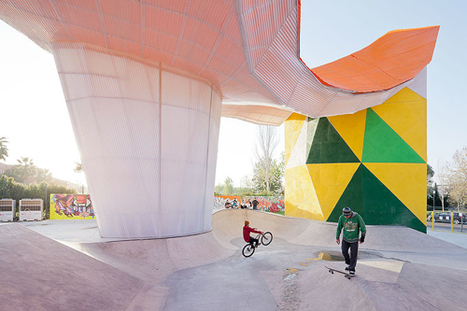 Factoria Joven Skate Park | Design Milk | Urban Design | Scoop.it