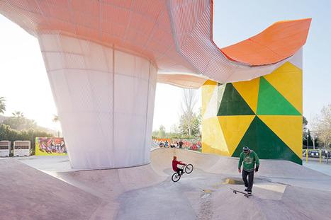 Factoria Joven Skate Park   Design Milk   Urban Design   Scoop.it