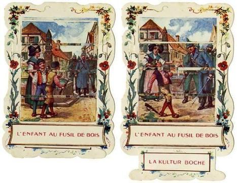 Images de propagande anti-allemande - [Château des ducs de Bretagne] | Histoire 2 guerres | Scoop.it