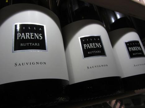 #SAUVIGNON VILLA PARENS, CRU DI #RUTTARS. | SPEAKING OF WINE | Scoop.it