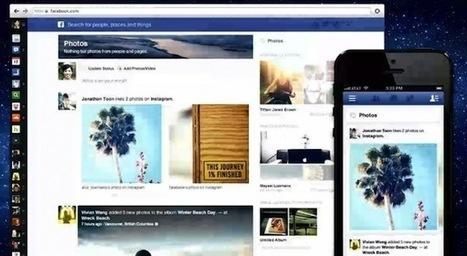 Une nouvelle version de Facebook pour laisser plus de place aux contenus et aux publicités | Digital Experiences by David Labouré | Scoop.it