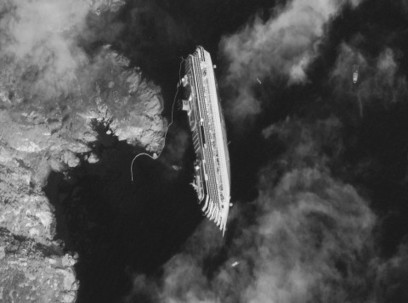 The Costa Concordia Shipwreck Viewed from Outer Space | Technoculture | Scoop.it