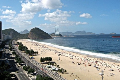 Solar City Tower - A Gigantic Solar Waterfall for 2016 Rio Olympics | Australia and South America and Africa | Scoop.it