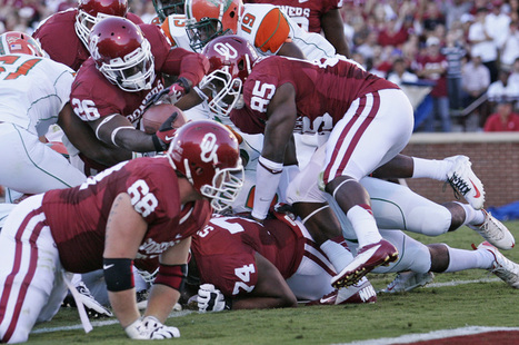 OU's offensive Line Ranked Ranked # 5 In The Big12 | Sooner4OU | Scoop.it