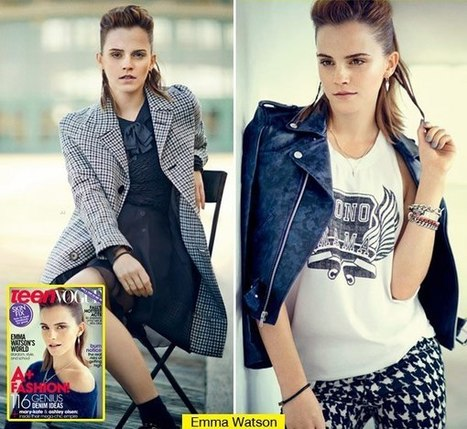 Emma Watson Admits Red Carpets Make Her Nervous In 'Teen Vogue' - Hollywood Life | BlingBling | Scoop.it