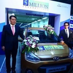 Hyundai Motor India rolls out 5 millionth car - Gaadi.com | Mahindra Cars India | Scoop.it
