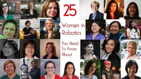 25 women in robotics you need to know about – 2016 | Robohub | Focus on Biology | Scoop.it
