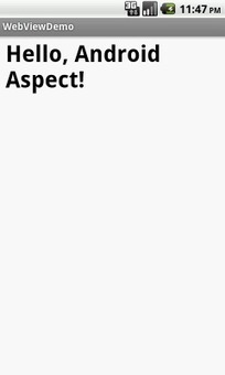 Android WebView Tutorial   Android Aspect   Android Development for all   Scoop.it