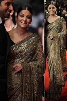 Aishwarya Cannes Sarees   Fashion   Scoop.it