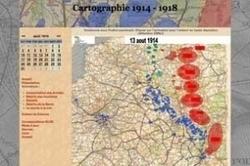 Suivez la Grande Guerre jour après jour avec Cartographie 14-18 | Histoire Familiale | Scoop.it