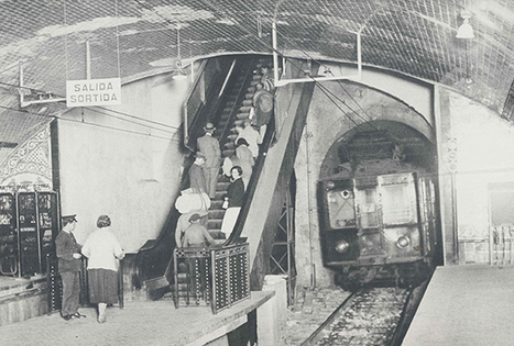 90 años del Metro de Barcelona | Caminos de hierro | Scoop.it