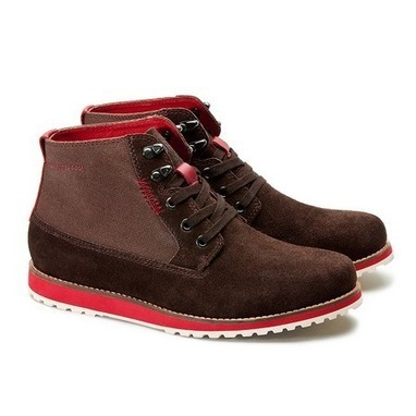Trendy canvas and suede city hunter boots for men from Vintage rugged canvas bags | Best mens style outlet | Scoop.it