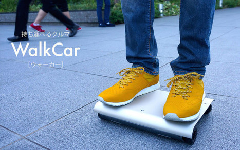 The WalkCar Personal Mobility Device Is Not Much Bigger Than A Laptop | I didn't know it was impossible.. and I did it :-) - No sabia que era imposible.. y lo hice :-) | Scoop.it