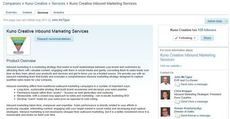 Generate Qualified Sales Leads With Your LinkedIn Company Page | BUSINESS and more | Scoop.it